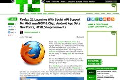 http://techcrunch.com/2013/05/14/firefox-21-launches-with-social-api-support-for-mixi-msnnow-cliqz-android-app-gets-new-fonts-html5-improvements/ ... | #Indiegogo #fundraising http://igg.me/at/tn5/