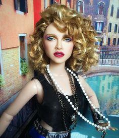 OOAK! Madonna Barbie doll Like a virgin music video CYGUY repaint