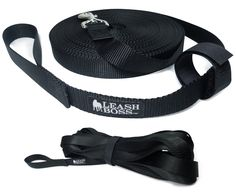 Leashboss Long Trainer - 1 Inch Nylon Long Dog Training Leash with Storage Strap - USA Made >>> See this great image  (This is an amazon affiliate link. I may earn commission from it)