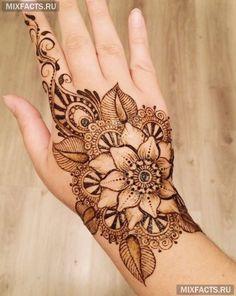 Мехенди лотос Hena Designs, Beautiful Henna Designs, Simple Mehndi Designs, Henna Tattoo Designs, Mehndi Tattoo, Mehndi Art, Henna Tattoos, Mehendi, Henna Elephant