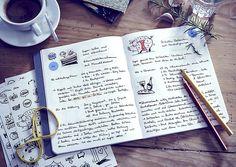 dot on diary #food - Das #Rezeptbuch zum Selbermachen   #klebepunkte #Illustrationen #Tagebuch #diy #doton #diary #madeingermany