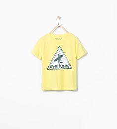 ZARA - KIDS - Gone surfing T-shirt