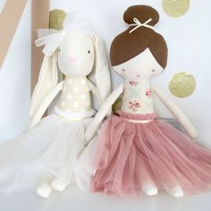 Alimrose Bronte Bunny and Amelie Dolls at the best prices www.missnmaster.com