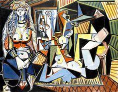 La obra de Pablo Picasso Las mujeres de Argel (Versión 'O') (1955),dimensiones de 114 por 156 centímetros;  homenaje a Jacqueline, la última de las mujeres de Picasso, se ha vendido por 179,3 millones de dólares
