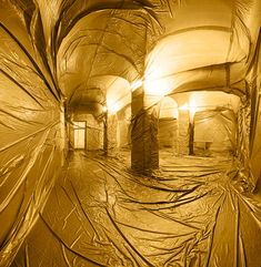Wrapped Interior Installations by Penique Productions | Yellowtrace