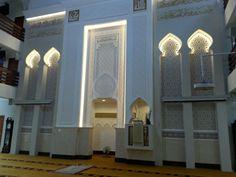 Facade Design, Exterior Design, Interior And Exterior, Mosque Architecture, Interior Architecture, Best Photo Frames, Islamic Center, Beautiful Mosques, Cube Design
