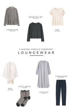 A minimal loungewear capsule wardrobe - Jessica Rose Williams | minimalism | minimal style | minimal loungewear | slow living | capsule wardrobe ideas | how to build a capsule wardrobe | capsule wardrobe tips | simple living