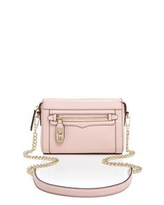 Rebecca Minkoff Crossbody - Mini Crosby With Gold Tone Hardware | Bloomingdale's