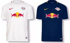 Camisas do RB Leipzig 2016-2017 Nike