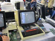 BBC microcomputer @ Maker Faire 2014: retro-gaming and Basic programming #makerfaireuk