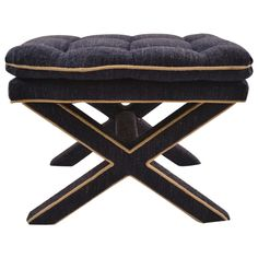 "Classic ""X"" stool attributed to Billy Baldwin"