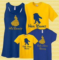 4 pack Family Glitter Family Matching Couples Set Beauty and Beast Bella Tank Shirt Disney World Disneyland Flowy Racerback Tank Bling Disneyland Trip, Disney Vacations, Disney Trips, Disney Travel, Matching Couples, Matching Outfits, Mickey Family Shirts, Disney World Shirts Family, Family Tshirt Ideas