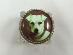 Antique Victorian Sterling Silver Inkwell Tray and Inkwell with Enamel from a-dogs-tale-collectibles on Ruby Lane...