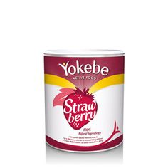 Yokebe Active Food Strawberry Tin 450g Yokebe Active Food