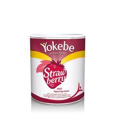 Yokebe Active Food Strawberry Tin 450g Yokebe Active Food
