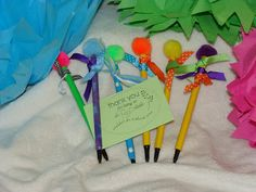 Duct Tape Pens - You're dePENdable. cute + easy craft