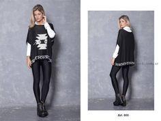 ponchos de moda arauz sweaters invierno 2015