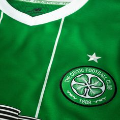 A closer look at Celtic's 2015/16 New Balance Away Kit: Celtic Crest