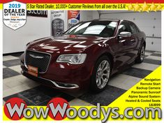 One Owner! This Chrysler 300 300C's top options include a HEMI Engine, Panoramic Sunroof, Leather Heated and Cooled Seats, Remote Start, Backup Camera, SafetyTec Plus Group, and more! It has a dependable Regular Unleaded V-8 5.7 L/345 engine powering this Automatic transmission. Rear-Wheel Drive, MOPAR WIRELESS PHONE-CHARGING PAD, ENGINE: 5.7L V8 HEMI MDS VVT (STD). Certified Pre-Owned. #wowwoodys #chrysler #chrysler300 #2018chrysler #chryslerforsale #cars #luxurycars #2018cars #certifiedcars