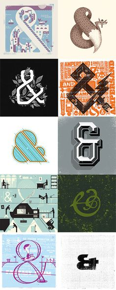 The Ampersand Collection from 55 Hi's.