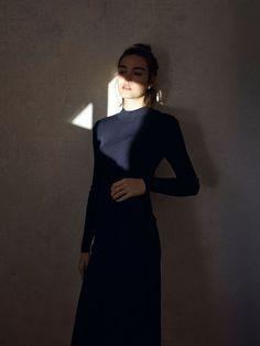 m File, fashion, style, all black, minimal