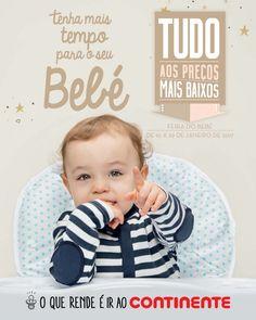 Folheto Continente Feira do Bebé em vigor de 10 a 29 Janeiro. #Folheto #Continente #Bebé