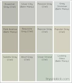 Tips for selecting color and best neutral paint colors from Sherwin Williams and Behr Marquee