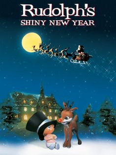 It up to Rudolph to track down the baby New Year and save us all from being trapped in time.