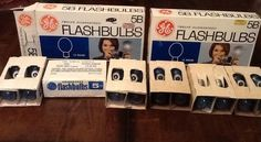 2 Vintage Boxes of GE 5B Flash Bulbs 24 total UNUSED Made In USA Photography in Vintage Parts & Accessories | eBay Sold $24.89
