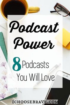 Excellent podcasts for women. A list of popular podcasts on education, business, parenting and intentional living. As well as thoughts on why podcasts are an encouraging resource worth making time for. Ted Talks, Christian Podcasts, Parks, Bullet Journal, Make Time, Choose Me, Reading, Self Improvement, Self Help