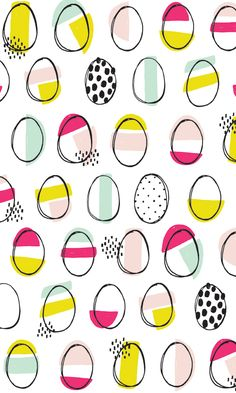 Easter wrapping paper! Free download!