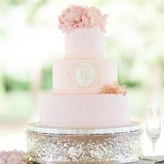 Pink Three-Tiered Cake