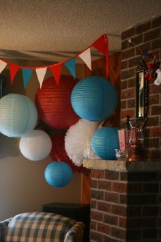 """Custom Paper Creations: Dr. Suess """"Thing 1 and Thing 2"""" Baby Shower"""