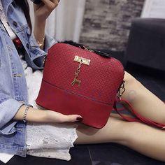 Fashion Women Hobo Leather Shoulder Bag Messenger Purse Satchel Tote Handbag Hot #Unbranded #ShoulderBag