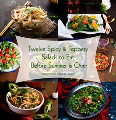 Twelve #Spicy and Peppery #Salads to Eat Before #Summer is Over