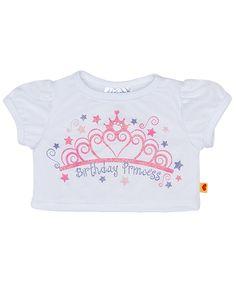 Birthday Princess T-Shirt | Build-A-Bear Workshop
