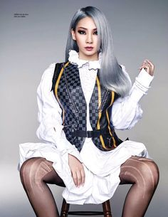 CL for ELLE Malaysia Magazine