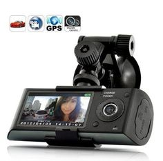 Find Dual Camera Car Blackbox DVR with GPS Logger and G-Sensor in the Electronics - Car Electronics & GPS - Car Video - Car Video Monitors Only - Other Car Video Monitors category in Webstore online auctions Wireless Camera, Backup Camera, Video Camera, Camera Lens, Vehicle Camera, Car Vehicle, Surveillance Equipment, Surveillance System, Autos