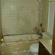 how to paint over glazed backsplash tiles - Can I Paint Bathroom Tile