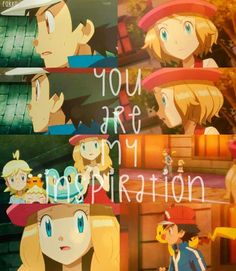 I LOVE THESE AMOURSHIPPING MOMENTS! XD :D :) ^_^ ^.^ ♡ I give good credit to whoever made this