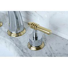 Rohl U.3712LS PN 2 Perrin U0026 Rowe Georgian Era Polished Nickel Two Handle  Widespread Bathroom Faucets | EFaucets.com | DARLING MASTER PLUMBING |  Pinterest ...