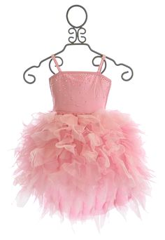 Ooh La La Couture Devin High Low Dress in Pink $136.00