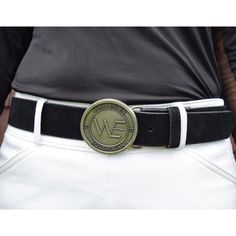 Perfect for any ring, the WE Competition Belt is beautiful and classy. Comes in black suede or black leather. Limited supply available. Horse Gifts, Gifts For Horse Lovers, Equestrian Gifts, Equestrian Style, Black Suede, Black Leather, Name Bracelet, Horseback Riding, Trainers