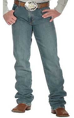 Wrangler® Premium Patch Blue Moss Slim Fit Jeans | Cavender's Boot City