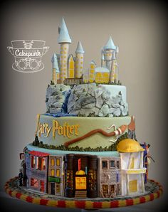Photo gallery of cakes, cupcakes and cookies created by Cakepunk.