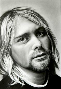 Kurt Cobain - Nirvana on Behance