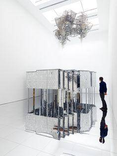 Lee Bul's Labyrinth of Infinity Mirrors: Via Negativa II | Video | The Creators Project