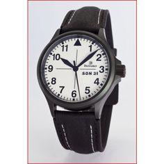 Damasko DA37 Black with Buckle | Damasko Watches | Watches | Page And Cooper