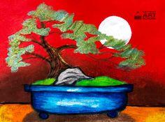 NEW: Bonsai Tree - Easy Peasy Art School