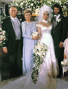 Hope and Bo's wedding  -  NBC's Days of Our Lives  - 1980's